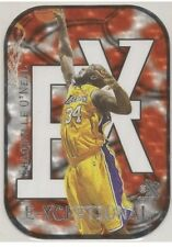 99/00 Skybox E-x 2000.shaquille Oneal Exceptional RED.die-Cut.