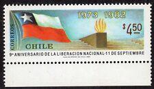 CHILE 1982 STAMP # 1037 MNH FLAG