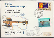 1972 Jersey 60th Anniverary of 1st Aircraft to land in Jersey; Channel Islands
