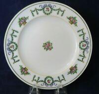 Minton Salad Luncheon Plate B840 Wreath Swag Ribbon Pink Purple Roses 1873-1912