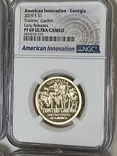 2019-S American Innovation $1 Proof NGC PF69 Ultra Cameo Georgia Early Releases