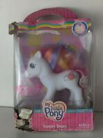 My Little Pony 2007 25th Birthday Celebration Sunny Daze *NEW IN DAMAGED BOX*