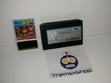 S 91-18 msx wonder boy master takahashi completo adventure island plus bee pack