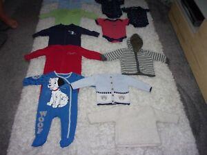 Baby Boys clothes bundle, 11 items, age 3-6 months, by Disney, Zara, etc.
