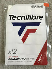 Tecnifibre Atp Pro Contact Overgrip 12 Pack White