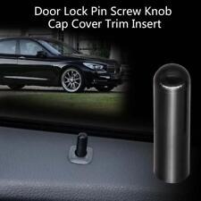 New Door Lock Button Pin Screw Knob Black for BMW F10 F02 F07 E70 525 730 X1 X6