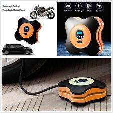 12V Car Offroad Numerical Digital Display Tyre Air Compressor Pump Emergency Kit