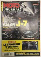MOTO JOURNAL N° 1486 - 20 Septembre 2001 -  Salon J-7
