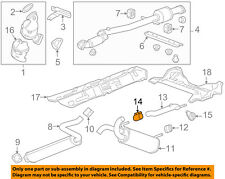 GM OEM Exhaust-Tailpipe Clamp 13278369