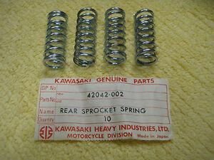 KAWASAKI F3/F2TR/F1TR/C2TR/G3TR/J1TR/G3SS REAR SPROCKET SPRING SET NOS!