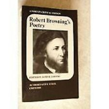 ROBERT BROWNING S POTRY     NORTON CRITICAL EDITION