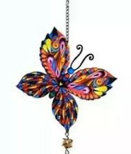 New listing Free Shipping New Super Cute Butterfly Multicolored Wind Chimes