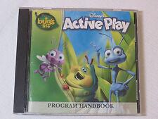 Disneys Active Play Program Handbook A Bugs Life Disney Interactive CD-ROM
