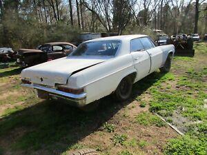 1966 Chevy impala 4 Dr Ht parts car