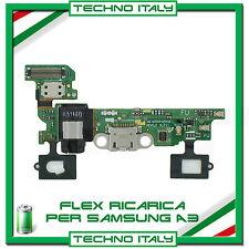 FLAT FLEX CAVO CONNETTORE CARICA DI RICARICA MICRO USB SAMSUNG GALAXY A3 A300F