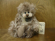 "LORRAINE CHIEN EXCLUSIVE One of a Kind FLUFFER, 12"", jointed Mohair, Hand Made"