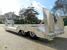 New Aluminum Lowboy Rider Trailer Tamiya R/C 1/14 Semi Truck King Grand Hauler