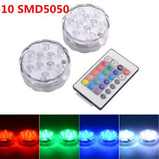 Submersible LED RGB Lights AAA Battery LD842IR Remote Control SMD5050 Waterproof