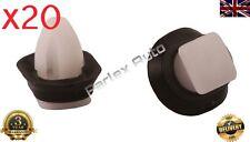 20pcs Exterior Side Moulding Rub Lower DOOR TRIM CLIPS (8565.43) Peugeot Boxer