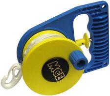MGE-Scuba Divers SMB CRICCHETTO Reel-sinistra o destra l'uso con linea e clip
