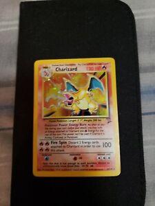 Charizard 4/130 (Base Set) Holo Rare Original Pokemon Card..Storage Unit Find!!!