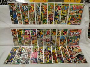 X-Men 95-143 (miss.19bks) SET 1975-1981 Solid/Nice! Marvel Comics (s 12325)