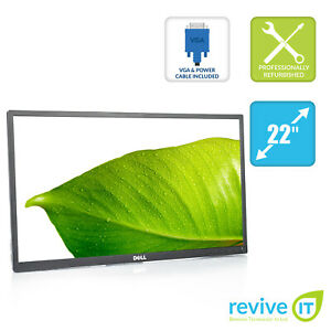 """Dell P2217H 22"""" Widescreen 1920x1080 LED Backlit IPS LCD Monitor ONLY - Grade A"""