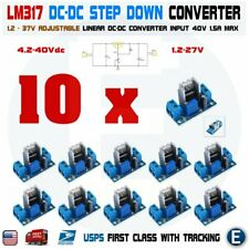 10pcs LM317 DC-DC Converter Adjustable Linear Regulator Step Down Circuit Board