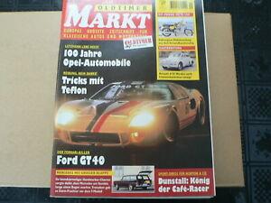 MARKT 1999 NO 1 MZ TS 250,DUNSTALL CAFE RACER,FORD GT40,RENAULT 4 CV,OPEL.MB