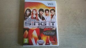 DISNEY SING IT POP HITS - NINTENDO Wii GAME / + Wii U COMPATIBLE - NEW & SEALED