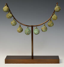 2,500 - 3,000 Years, A Set of Dong Son Bronze Bells with Stand