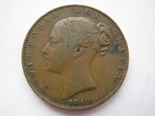 1849 Farthing, VF, RARE.