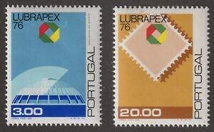 Portugal 1976 #1302-03 LUBRAPEX '76 - MNH