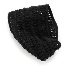 Schwarz Gehäkelt Gestrickt Style 15 cm Breit Kopfband Stirnband
