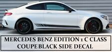 AMG Edition 1 C63 Side Stripe Decals Stickers - Mercedes Benz C Class Coupe C205