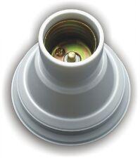 E27 Edison Screw Cap Socket Ceiling Light Bulb Lamp Holder Fixed Round Base