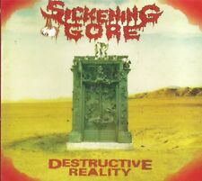 CD SICKENING GORE - DESTRUCTIVE REALITY  (NEW/SEALED)