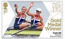 UK Team GB Gold Medal Winner Single Stamp - Helen & Heather MNH 2012