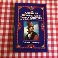 The American Revolution in Indian Country, Colin G. Calloway 1st Ed.-VERY NICE!