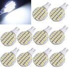 10xT10 194 921 W5W 1210 24 SMD LED RV Landscaping Pure White Light Lamp Bulb 12V