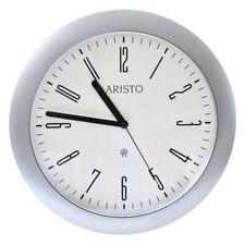 Orologi da parete radiocontrollato argento in plastica