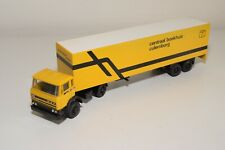 1:50 LION CAR DAF 2500 TRUCK WITH TRAILER CENTRAAL BOEKHUIS EXCELLENT CONDITION