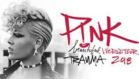 PINK BEAUTIFUL TRAUMA WORLD TOUR 2018 - IRON ON T-SHIRT TRANSFER    CONCERT