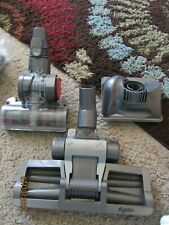 Lot of 3 Dyson Vacuum Attachments ~~Motorized~~Hard Floor~~ Ships FREE~~ EUC