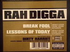 """RAH DIGGA + DJ PREMIER - BREAK FOOL / LESSONS OF TODAY (12"""")  2000!!!  RARE!!!"""