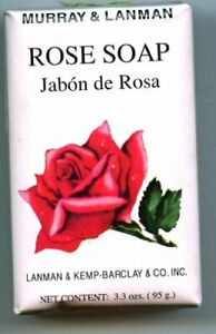 Rose Soap by Murray & Lanman 3.35 oz Pack of 3