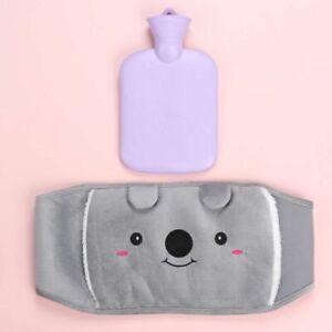 for Pain Cold Plush Warm Hand Warmer Hot Water Bottle Bag Waist Cover Belt