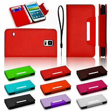 Luxury Magnetic Leather Flip Wallet Stand Case Book Cover For Samsung Galaxy All