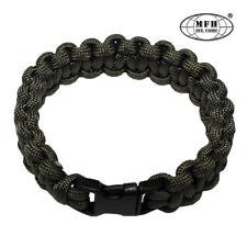 Bracelet Paracorde - Largeur 1,9 cm - Couleur Vert Olive Taille M