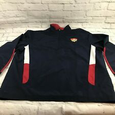 Cooperstown Dreams Park men's jacket pullover size XL blue windbreaker